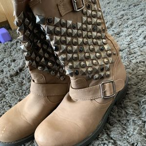 Shoes - Studded boots